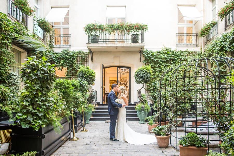Romantic Summer Paris Elopement