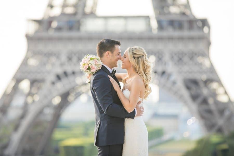 Elegant Summer Elopement in Paris