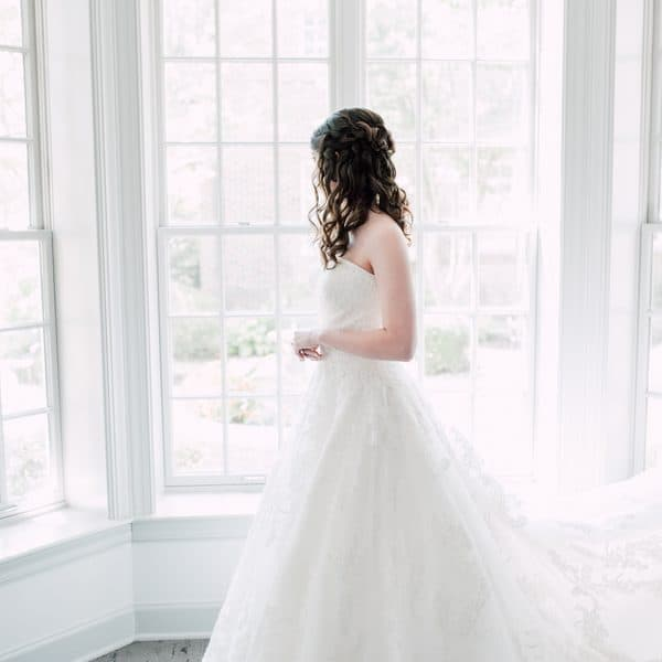 Bridal Side Shot