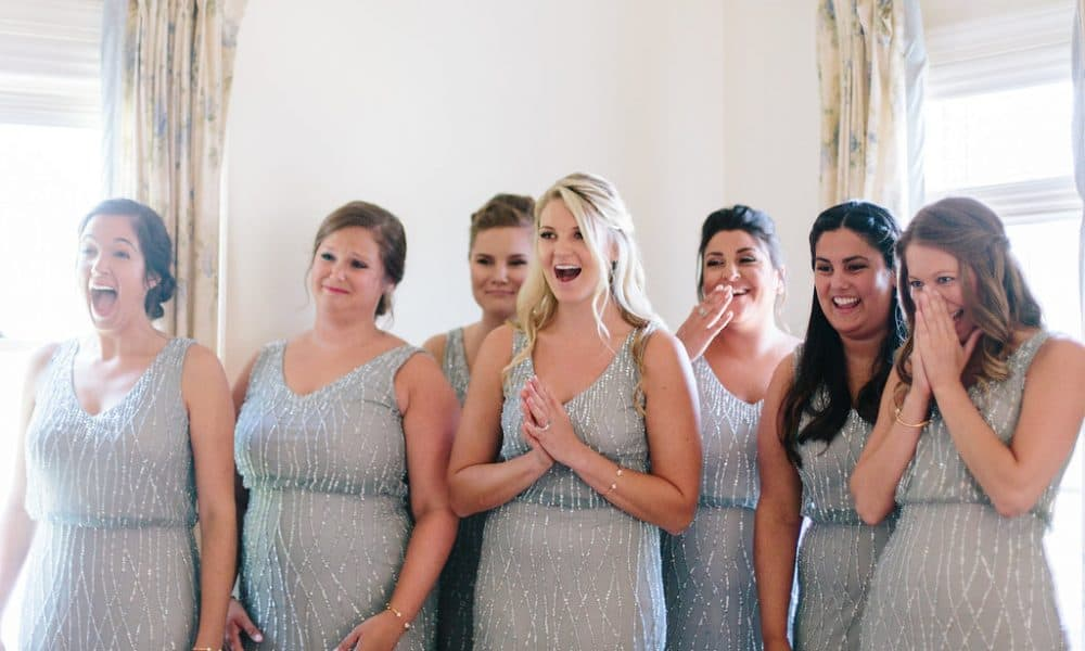 Bridesmaids Reaction