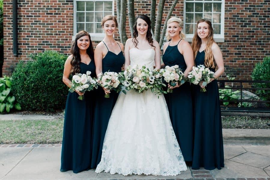 Bridesmaids Ready to Go