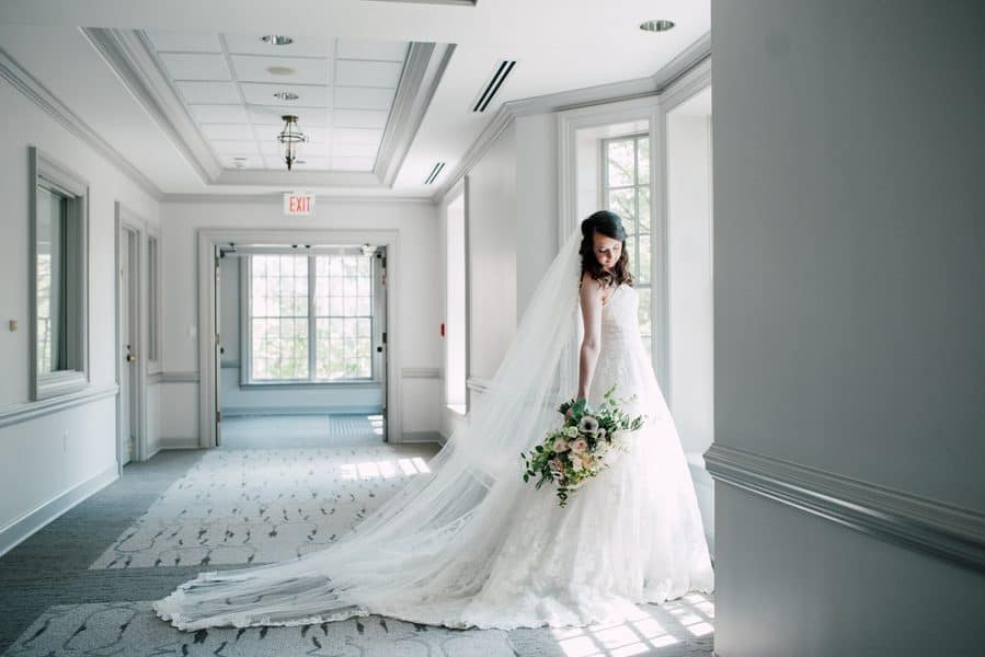 Dramatic Bridal Shot