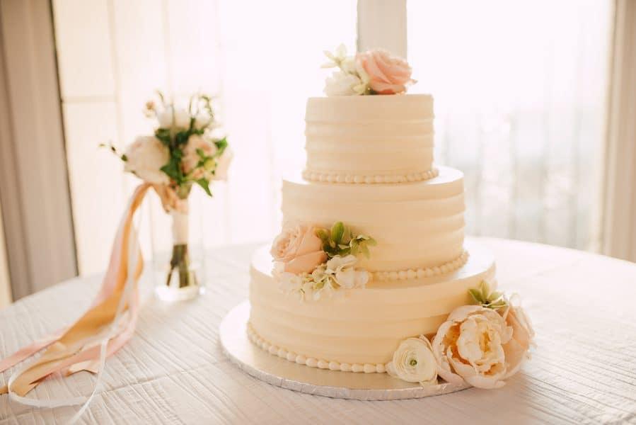 Feminine Wedding Cake