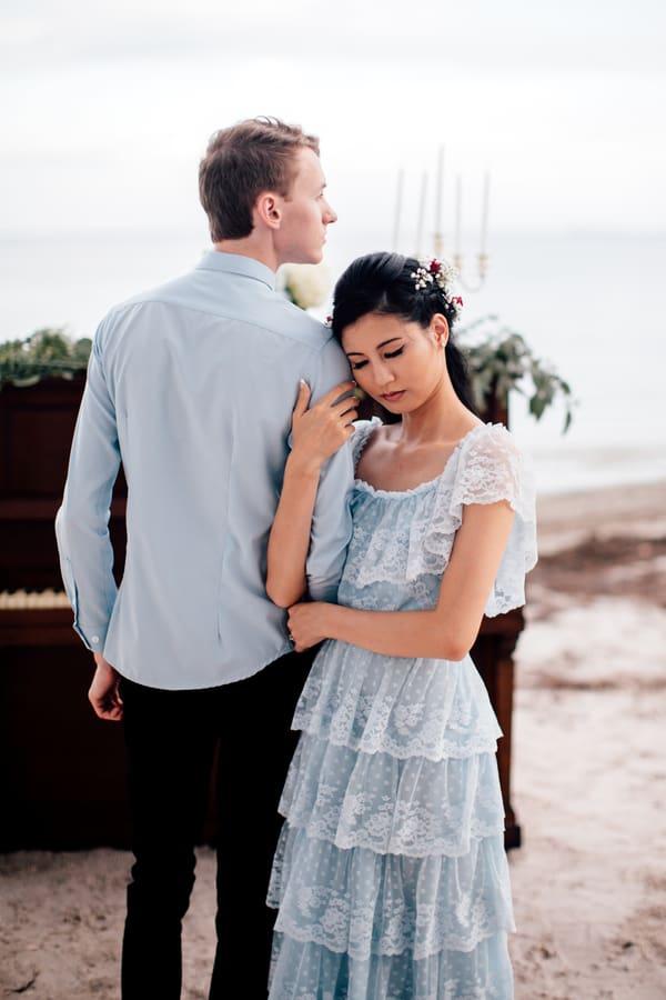 Romantic Beach Engagement
