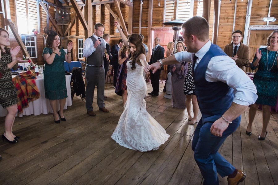 Rustic Virginia Barn Wedding