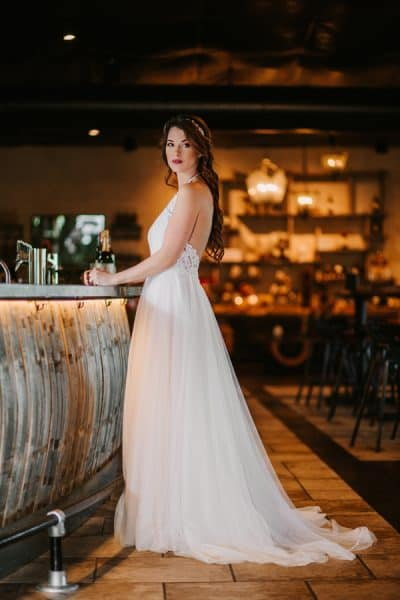 Romantic Barrel Styled Shoot