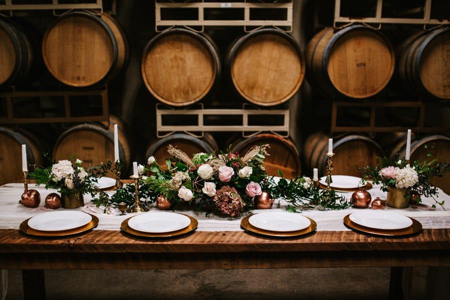 Romantic Barrel Styled Shoot