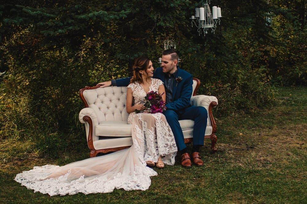Romantic Nature Inspired Wedding Shoot