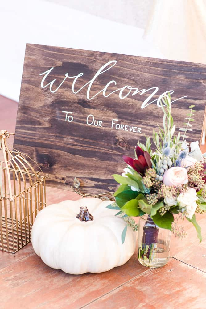 Fall Sweetheart & Sweets Styled Shoot