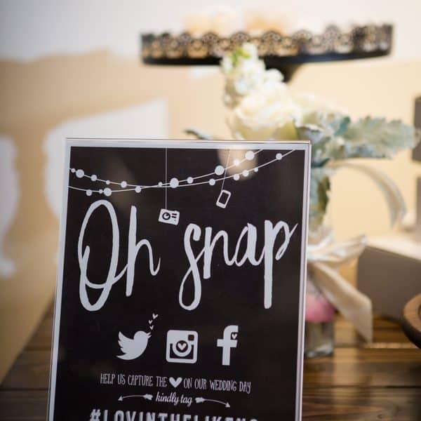 Wedding Photo Signage
