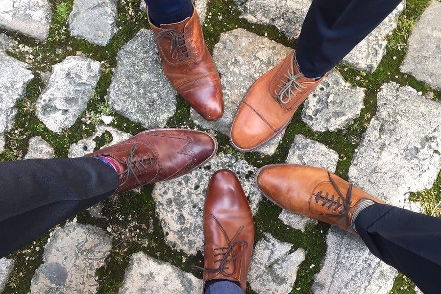 groomsmen feet