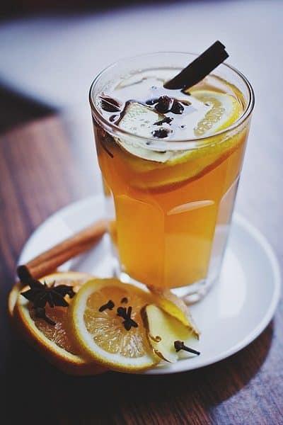 Mulled Wine Lemon Drinks Food Cinnamon Cafe