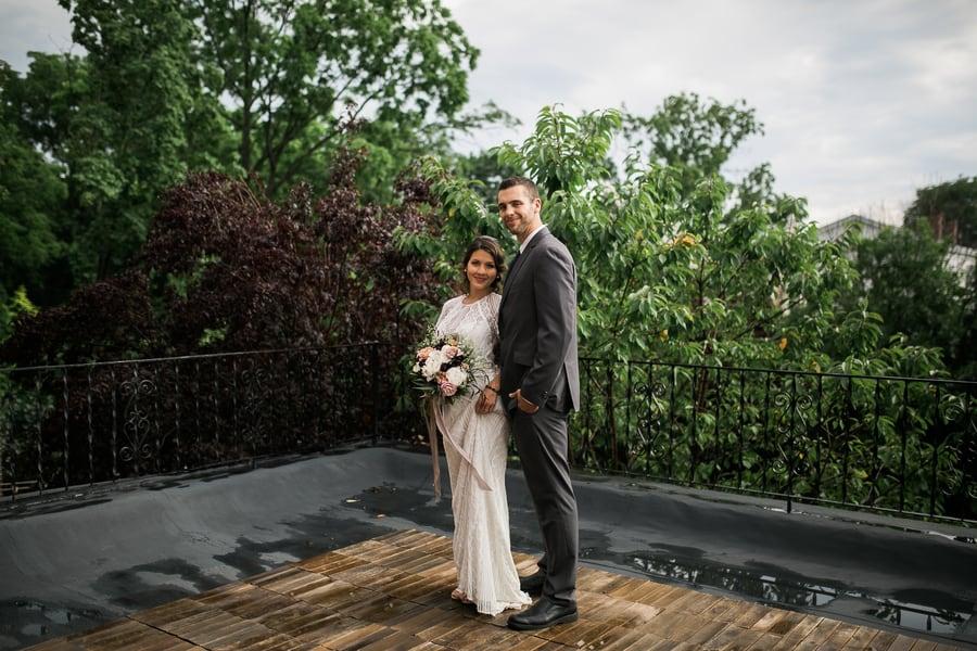 Balcony Wedding Photos