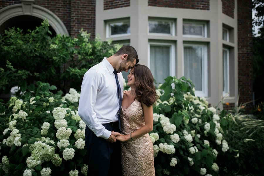 Beautifully Romantic Hollywood Wedding Theme