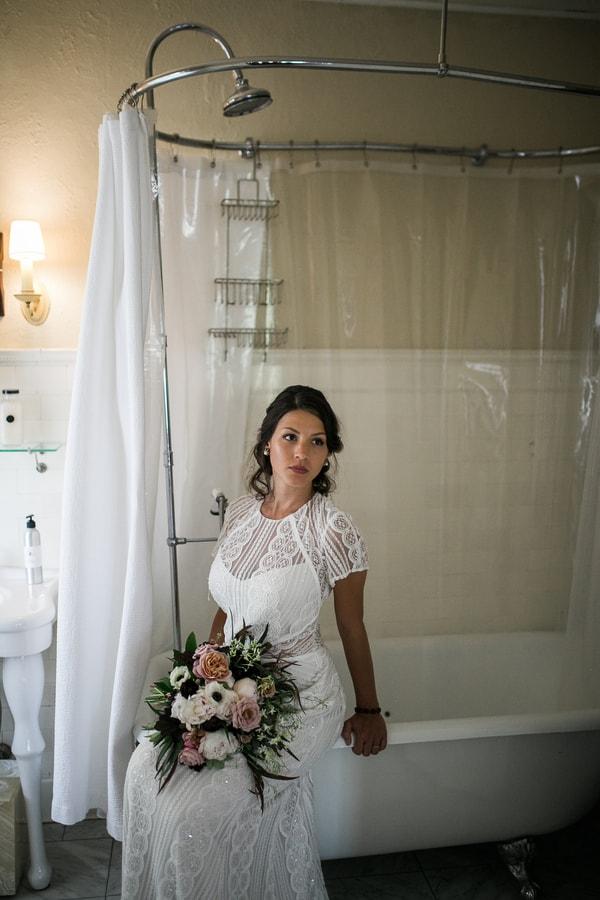 Bridal Bathroom Shot
