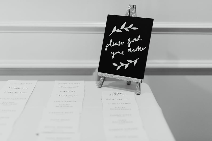 Gorgeous Wedding Signage