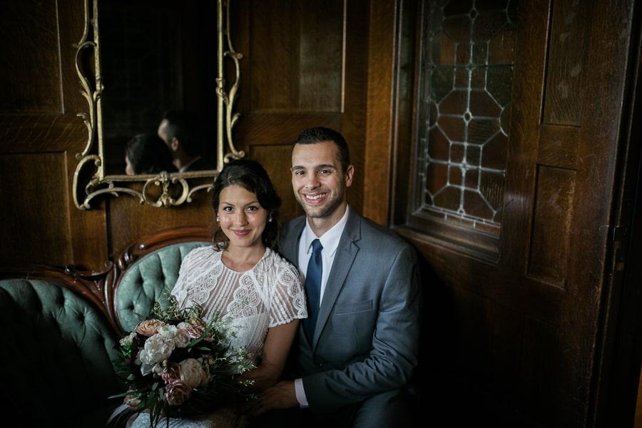 Happy Wedding Shot