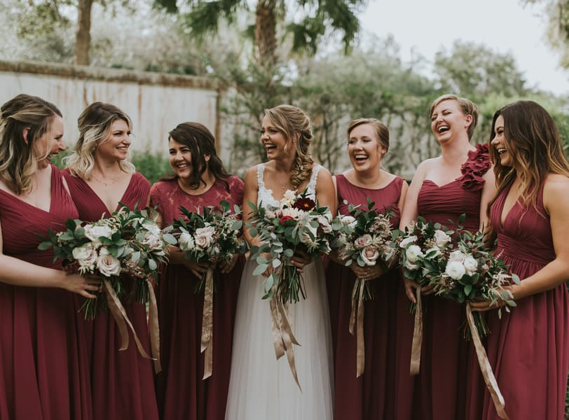 Fall Sarasota Outdoor Chic Wedding