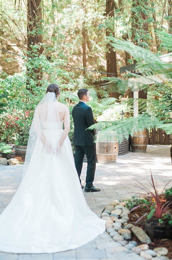 Elegant and Romantic UCLA inspired California Wedding