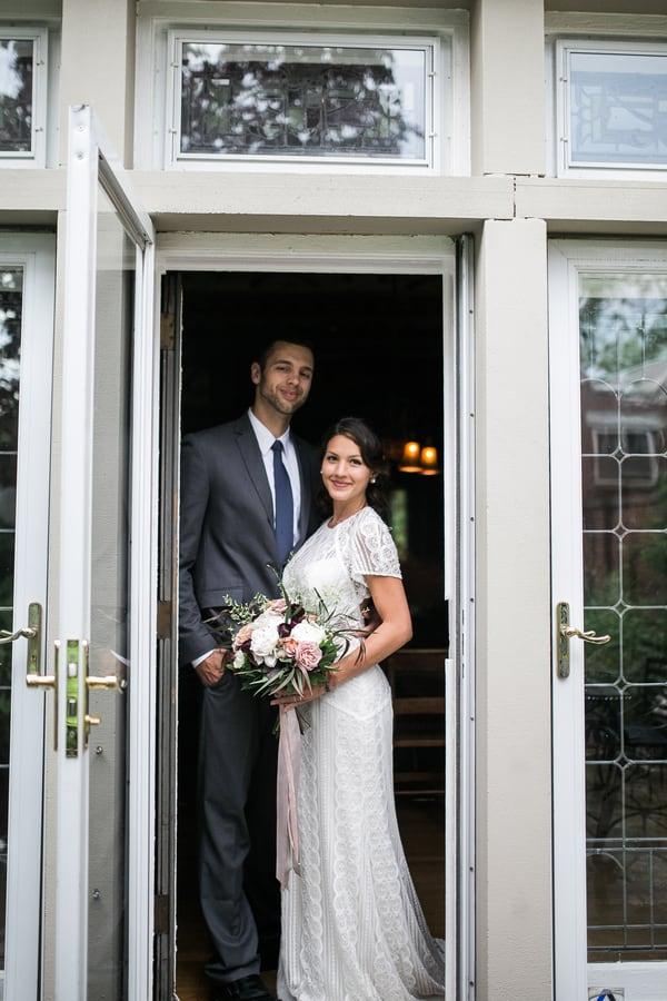 Light Wedding Posts