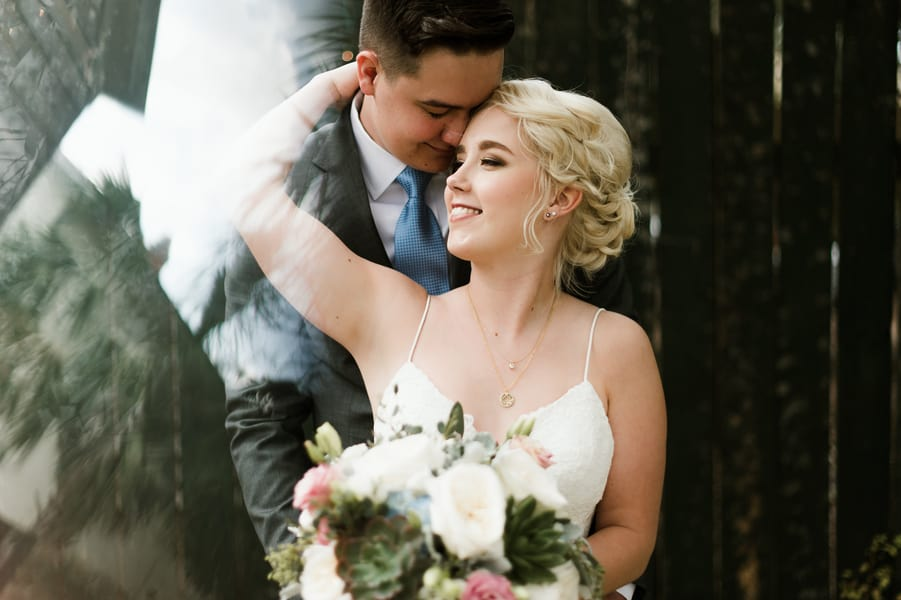 Loving Wedding Shot