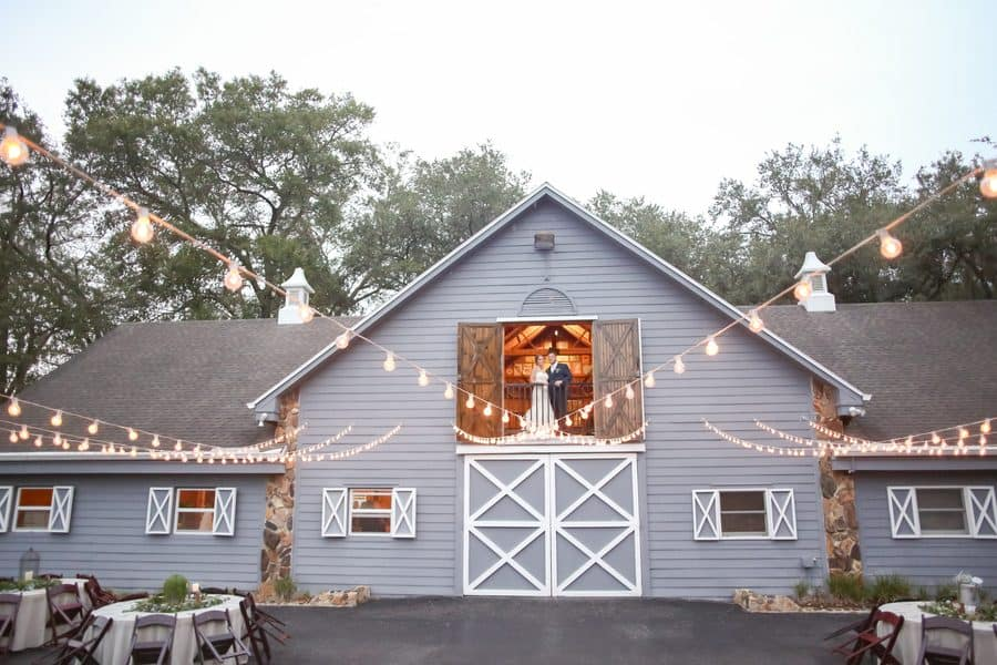Rustic Barn at the Lange Farm Wedding
