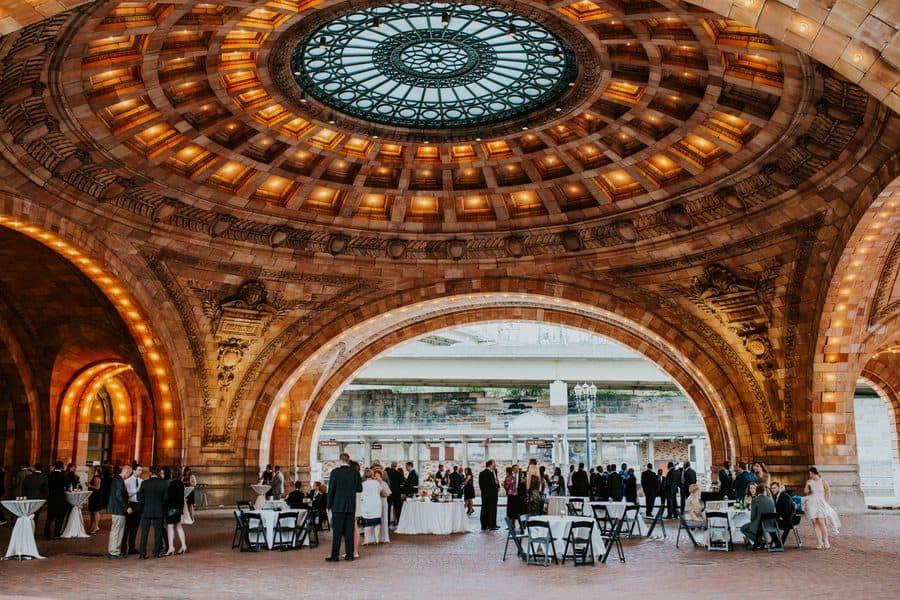 Glamorous Pittsburgh Wedding