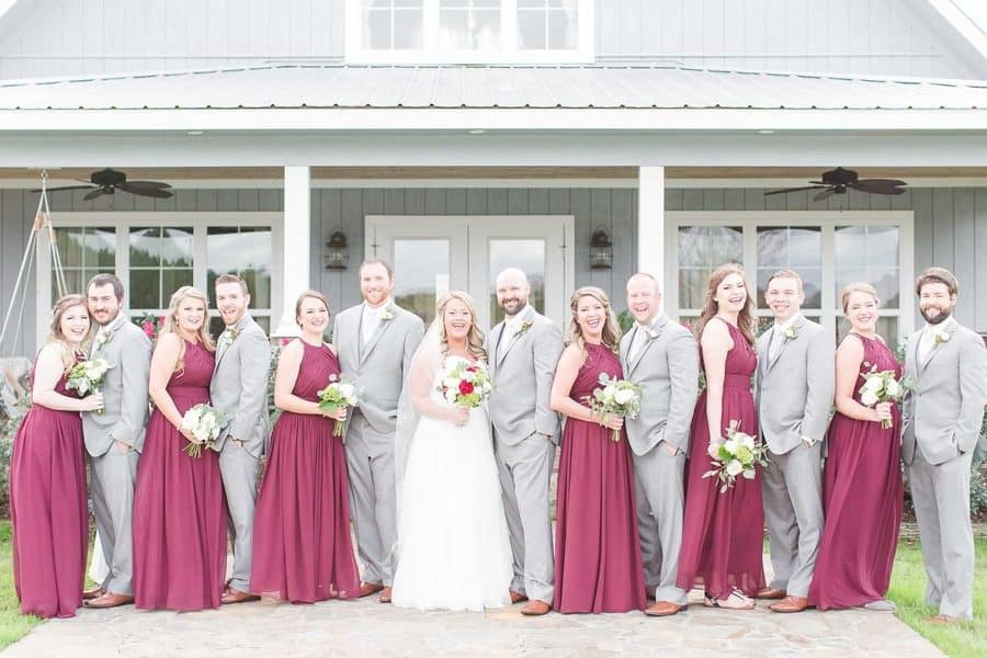 Country & Lakeside Fall Wedding