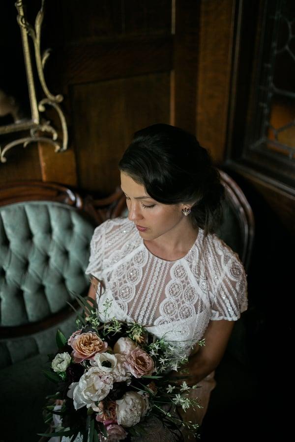 Moody Bridal Shoot
