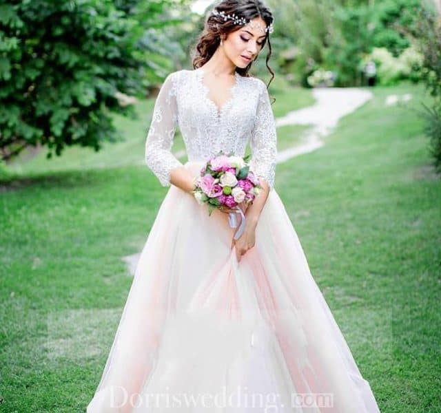 Princess Meets Boho Wedding Dress