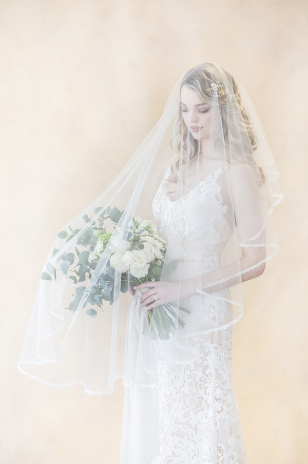 My Love is White Styled Shoot