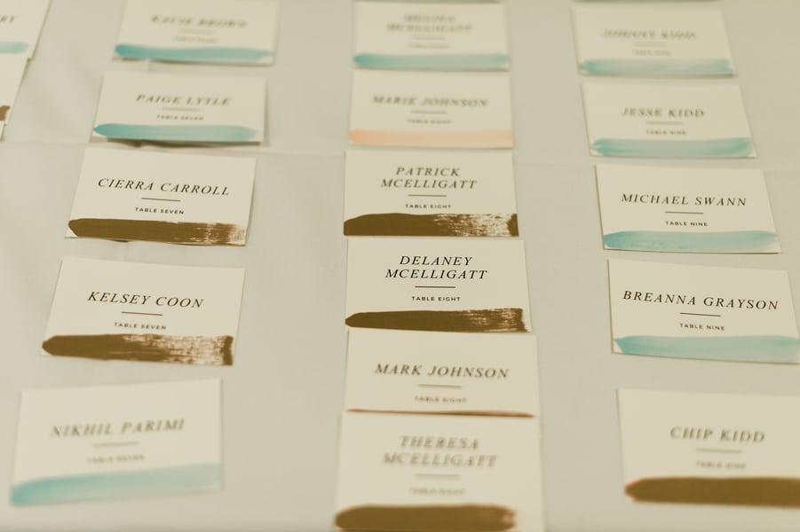 Wedding Reception Table Plan
