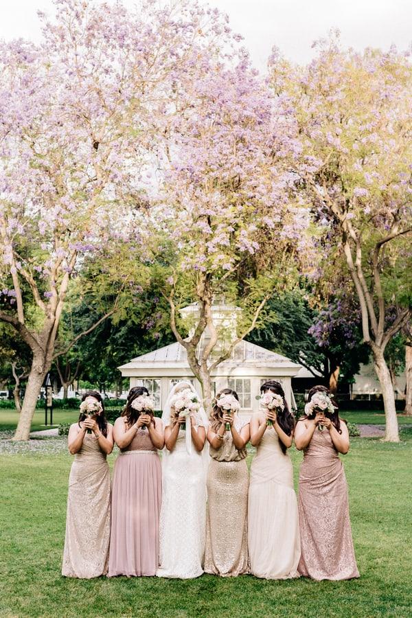 cute bridesmaids shot
