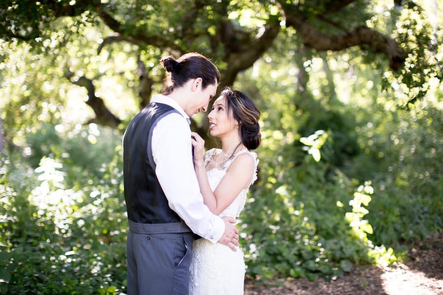 dreamy wedding shot
