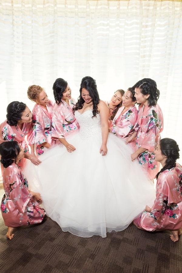 gorgeous bridesmaid shot