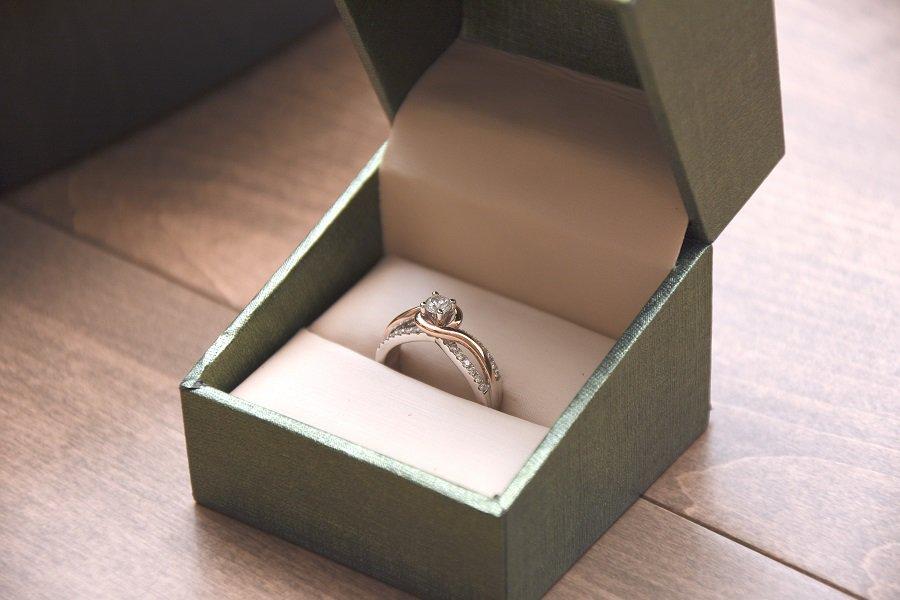 resized engagement ring