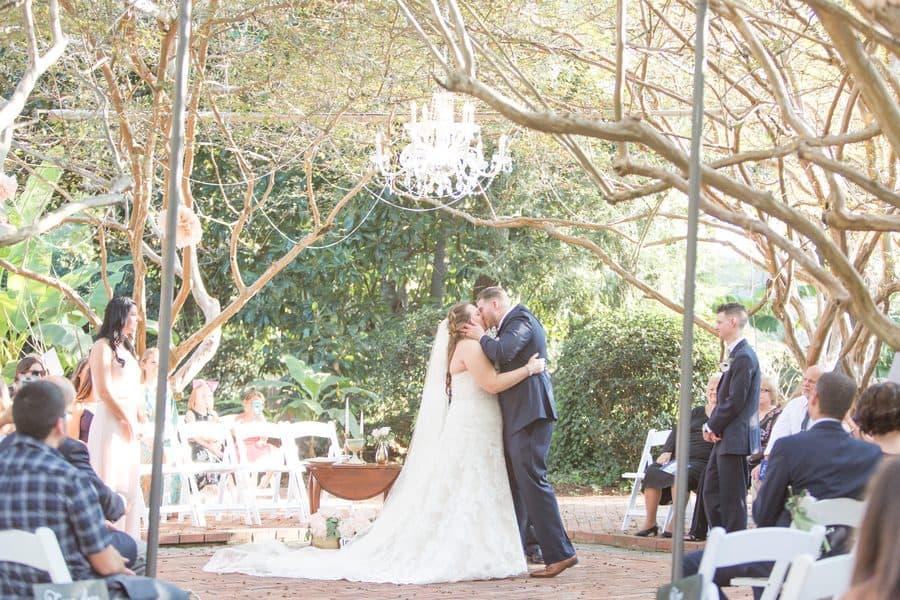 Rader & Wolford Intimate Garden Wedding