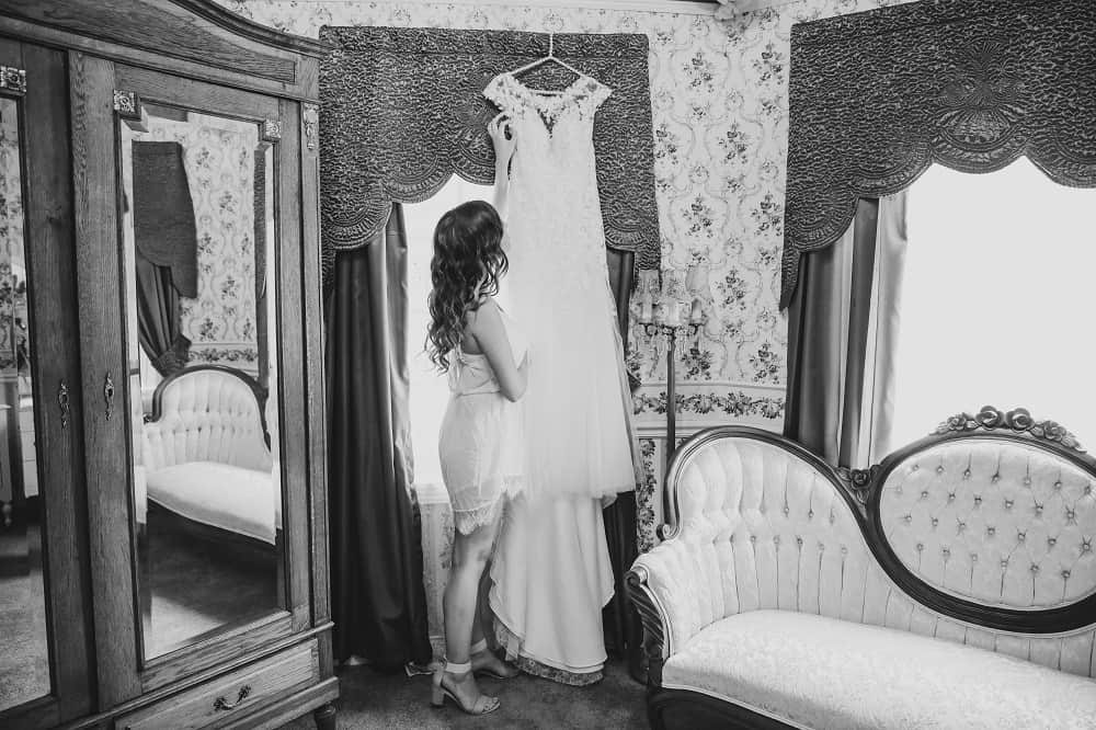 Artsy bride to be photo