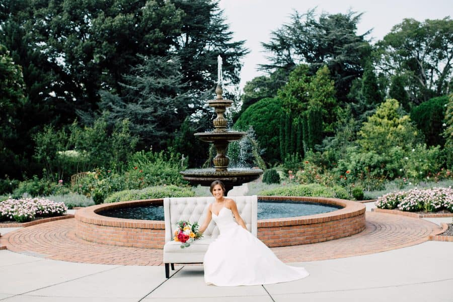Summer Wedding at the Memphis Botanic Gardens