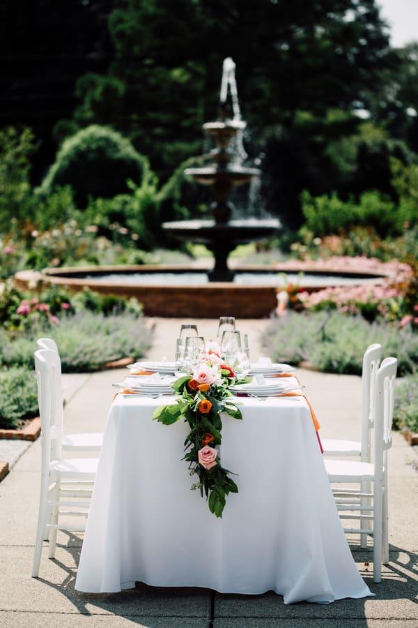 Summer Wedding At The Memphis Botanic Gardens Cake Lace Wedding Blog