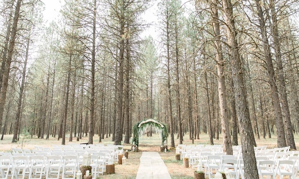 50 Shades of Pink- Enchanted Forest Wedding