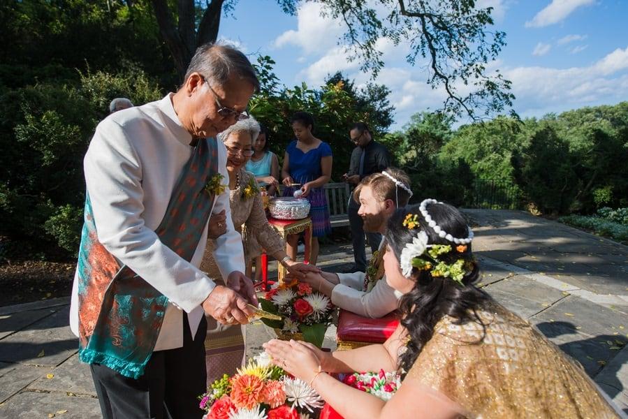 Fabulous thai water ceremony
