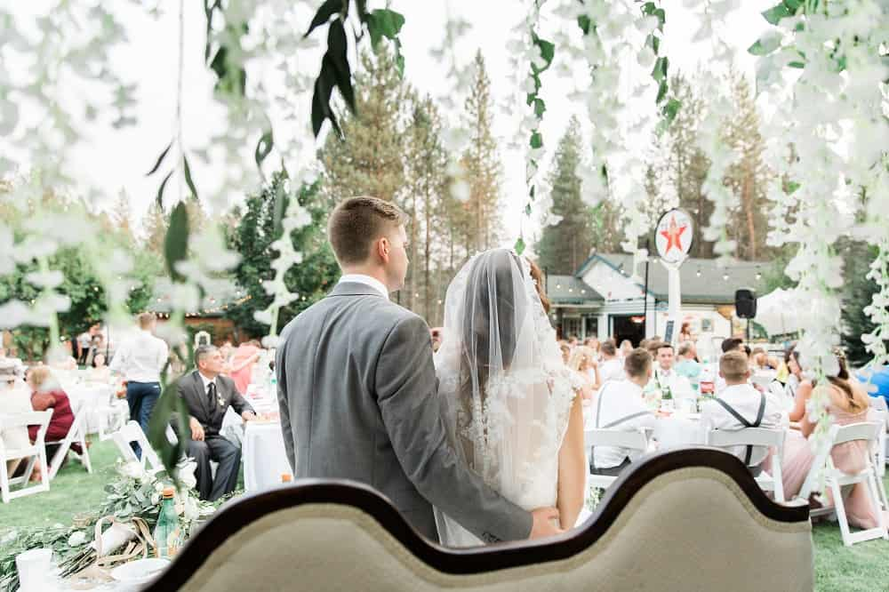 Fabulous wedding ceremony