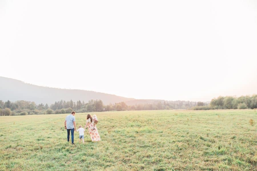 Magical Family Shoot in the Mountains
