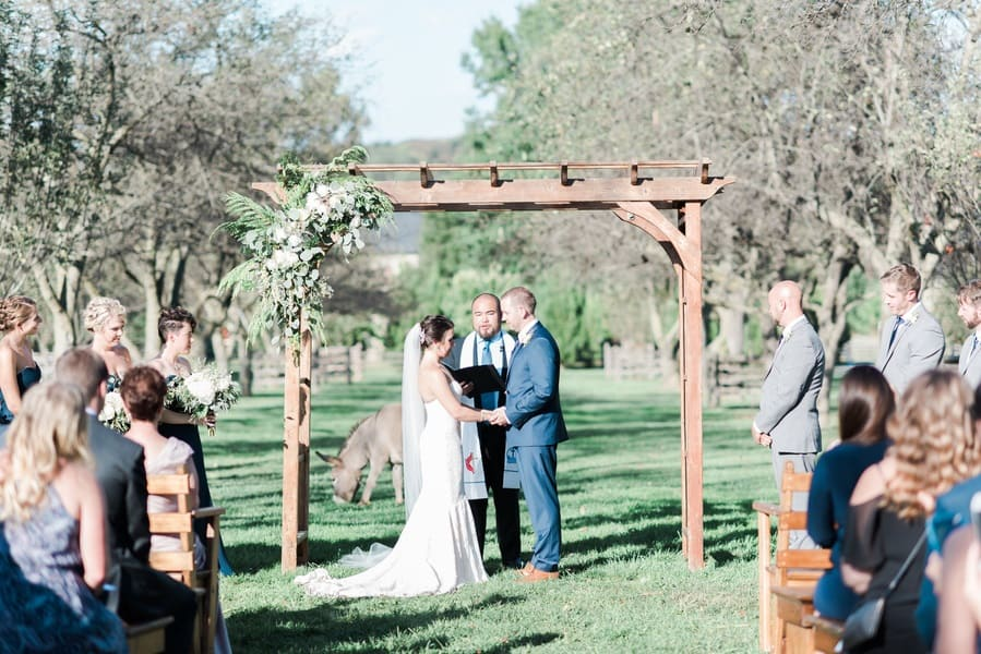 ranch wedding