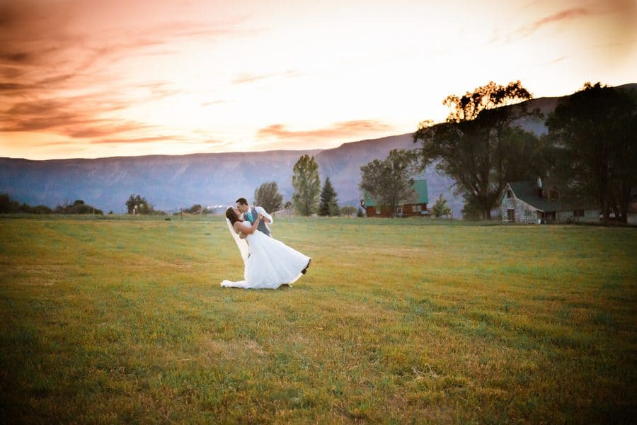 Colorado Mountaintop Orchard Wedding