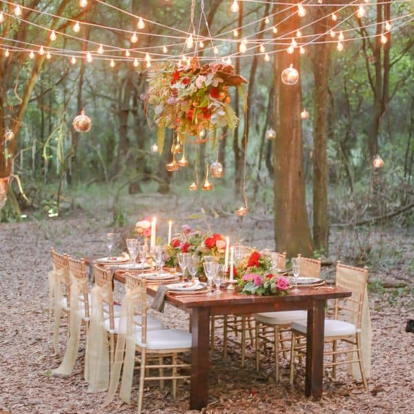 Enchanted Forest Wedding Day