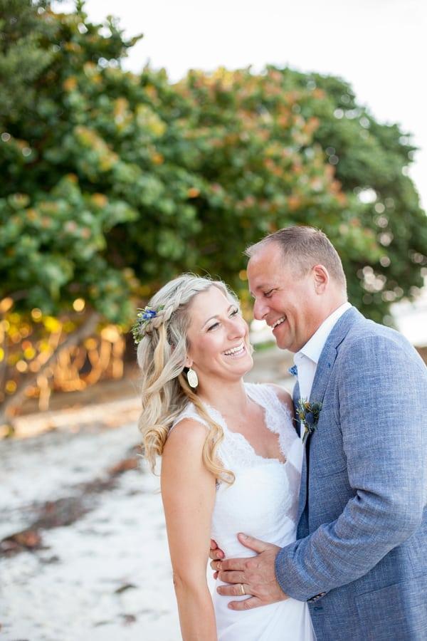 Beautiful Rustic Backyard Wedding