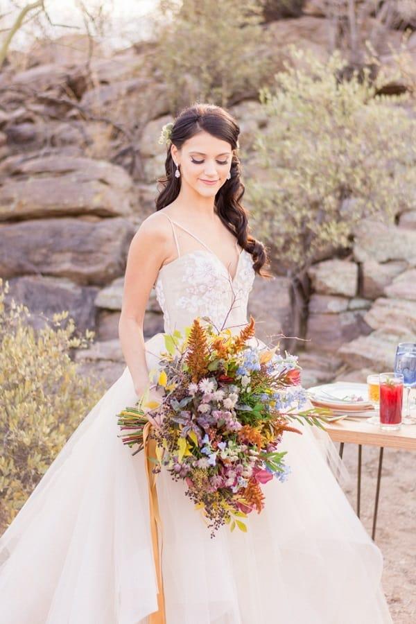 Rocky Desert Wedding