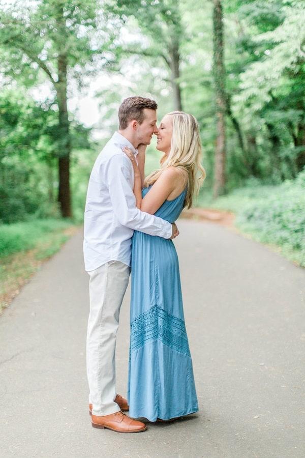 Romantically engaged